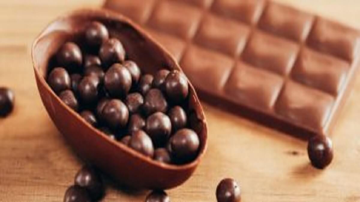 Casinha de chocolate