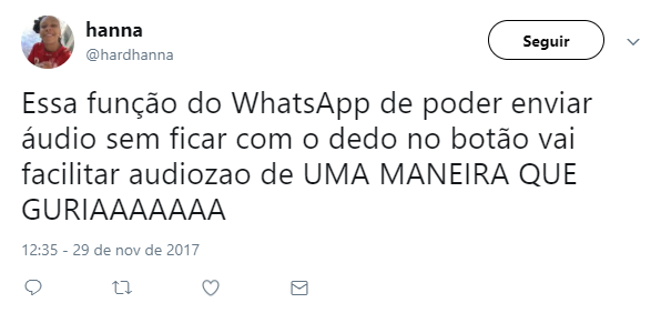 trava de áudio whatsapp